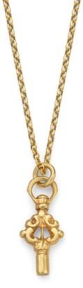 Harry Rocks Small Watch Key Necklace Gold