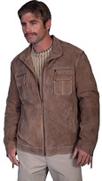 Scully Men's Zip Front Suede Jacket 524
