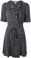 Diane von Furstenberg belted wrap dress - women - Silk/Spandex/Elastane - 8