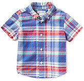 Ralph Lauren Baby Boys 9-24 Months Madras Plaid Short-Sleeve Shirt