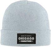 Zmxab CHICAGO MARATHON Beanie Cap
