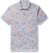 Engineered Garments Camp-Collar Floral-Print Cotton Shirt