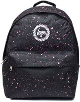 Hype **Black and Pink Speckle Backpack