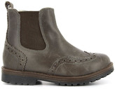 Pom D'Api Fur-Lined Leather Zip-Up Worky Boots