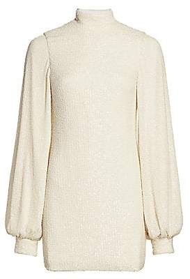 Alexis Women's Lunia Blouson-Sleeve Sweater Dress