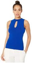 Milly Slit Tank (Cobalt) Women's Clothing
