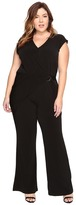 MICHAEL Michael Kors Size Wrap Front Jumpsuit