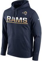 Nike Men's Los Angeles Rams Circuit Pullover Hoodie