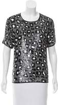 Ashish Sequined Silk Top