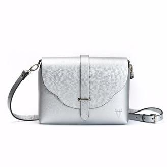 Atelier Hiva Midi Harmonia Leather Bag Silver