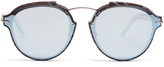 Christian Dior Eclat mirrored sunglasses