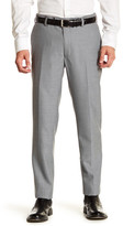 "Louis Raphael Modern Fit Flat Front Trouser - 30-34"" Inseam"