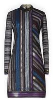Mary Katrantzou Libstip Lace Dress