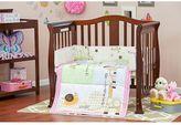 Dream On Me 3-pc. Reversible Jungle Friends Mini Crib Set