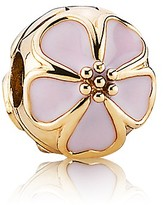 Pandora Clip - 14K Gold & Enamel Cherry Blossom, Moments Collection
