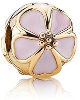 Pandora Clip - 14K Gold & Enamel Cherry Blossom, Moments Collection