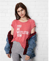 Express one eleven you me mistletoe now graphic tee
