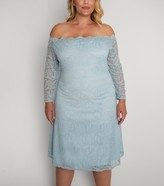 Thumbnail for your product : New Look Aarya Curve Lace Bardot Dress