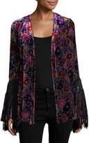 Anna Sui Women's Velvet Kimono