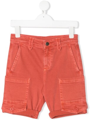 Stella McCartney Kids Denim Cargo Shorts