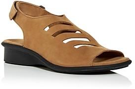 Arche Women's Saorna Slingback Demi-Wedge Sandals