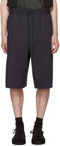 Juun.J Navy Basic Drawstring Shorts