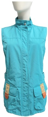 Fay Turquoise Coat for Women