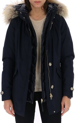 Woolrich Fur Trimmed Hooded Jacket