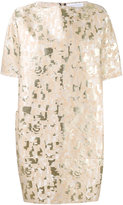 Gianluca Capannolo jacquard dress - women - Cotton/Polyamide/Polyester/Metallized Polyester - 40