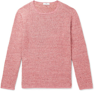 Inis Meáin Deora Aille Slim-Fit Linen Sweater
