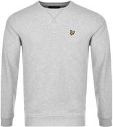 Lyle & Scott Crew Neck Sweatshirt Grey