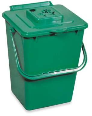 Exaco Trading Green Kitchen Compost Pail with Filter