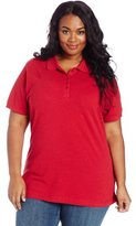 Dickies Women's Plus-Size Polo Shirt