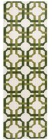 Waverly Artisanal Delight Groovy Grille Leaf Area Rug by Nourison (2'6 x 8')