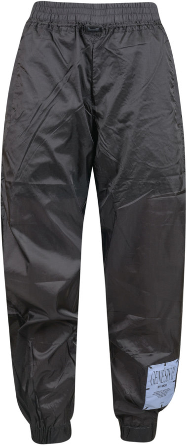 McQ Logo Patch Wide Fit Track Pants