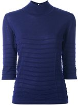 Blumarine keyhole back sweater - women - Virgin Wool - 42
