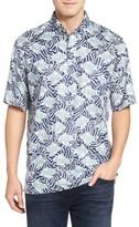 Reyn Spooner Men's Loko Kuapa Print Sport Shirt