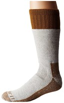 Carhartt Cold Weather Boot Socks 1-Pair Pack (Brown) Men's Crew Cut Socks Shoes