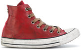 Converse lace up hi-tops