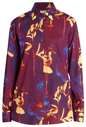 Dries Van Noten Printed Loose-Fit Regular Shirt