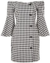 Topshop Gingham blazer dress