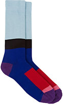 Paul Smith Men's Go-Go Colorblocked Mid-Calf Socks