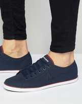 Le Coq Sportif Slimset Canvas Sneakers In Blue 1620093
