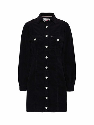 Tommy Jeans Women's Fitted Shirt Dress