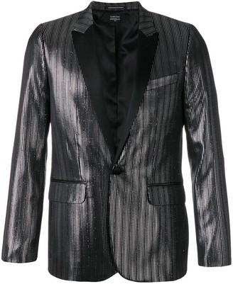 Garçons Infidèles metallic blazer