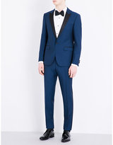 Hugo Boss Slim-fit Satin-lapel Wool Suit