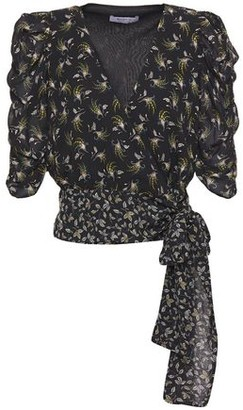 Bailey 44 Lillian Printed Georgette Wrap Top
