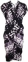 Zero Maria Cornejo stripe cut outs dress