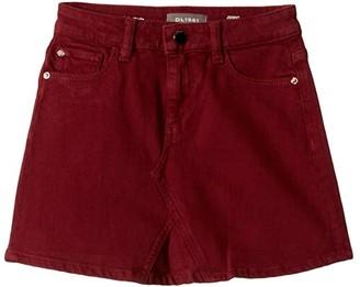 DL1961 Kids Jenny Skirt (Big Kids) (Carmine) Girl's Skirt