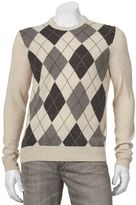 Dockers Men's Classic-Fit Argyle Soft Comfort Touch Sweater